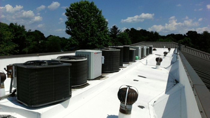 Multiple Air Conditioners Serviced