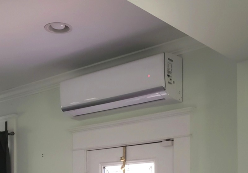 Ductless Air Conditioner and Heating
