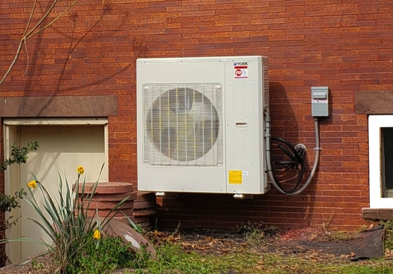 Ductless HVAC System Exterior